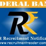 Federal Bank Recruitment Notification 2018