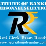 IBPS Clerk VIII Exam Results 2019