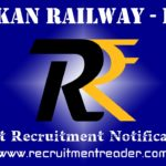 KRCL Recruitment Notification