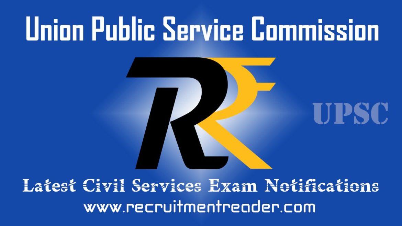 UPSC Civil Services Exam Notification 2018