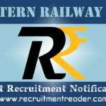 Western Railway Recruitment Notification 2019