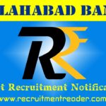 Allahabad Bank Recruitment Notification 2019
