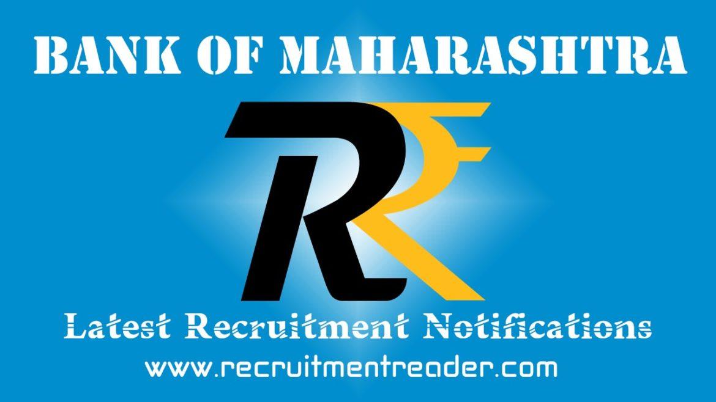 Bank of Maharashtra Recruitment Notification 2018