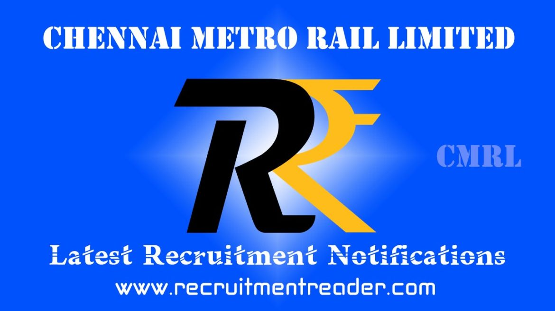 CMRL Recruitment Notification 2018