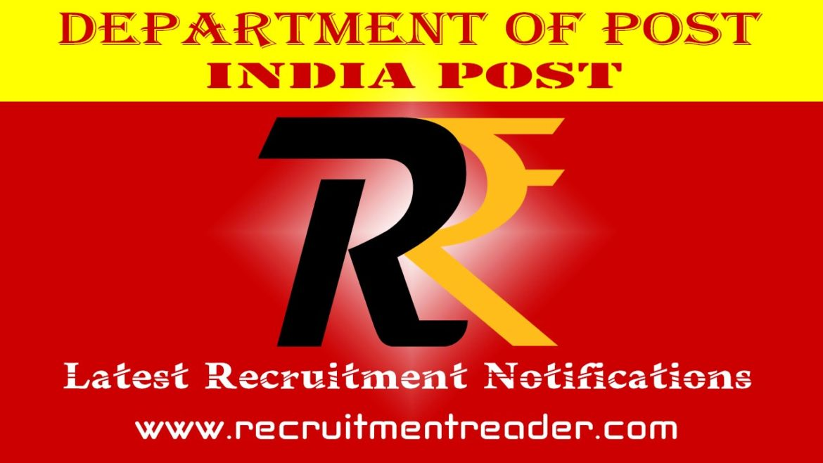 India Post Recruitment Notification 2018