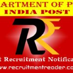 India Post Recruitment Notification 2019