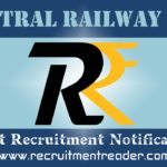 Central Railway Recruitment Notification 2020