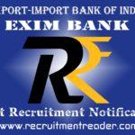 EXIM Bank Recruitment Notification