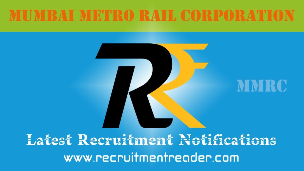 MMRCL Recruitment Notification 2018