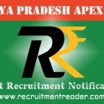 MP Apex Bank Recruitment Notification