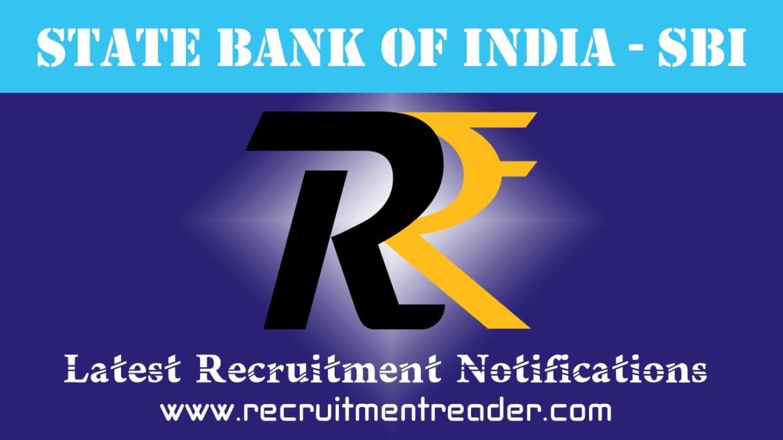 SBI Recruitment Notification 2018