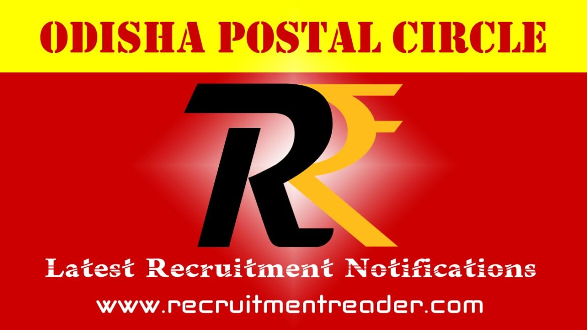 Odisha Postal Recruitment Notification 2018