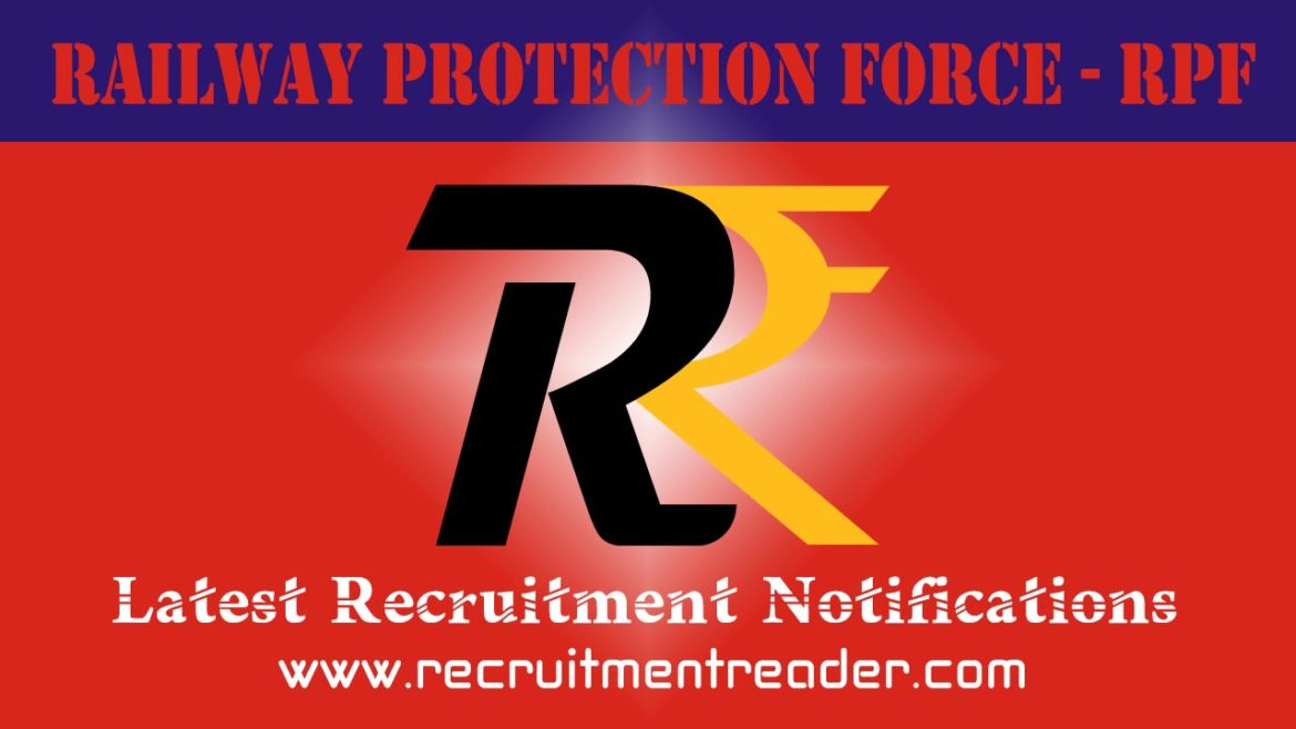 RPF Recruitment Notification 2018