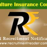 AIC India Recruitment Notification 2019