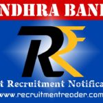 Andhra Bank Recruitment Notification 2018