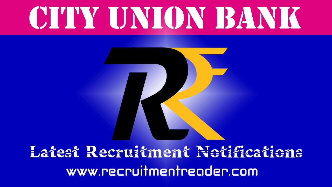 City Union Bank Job Application