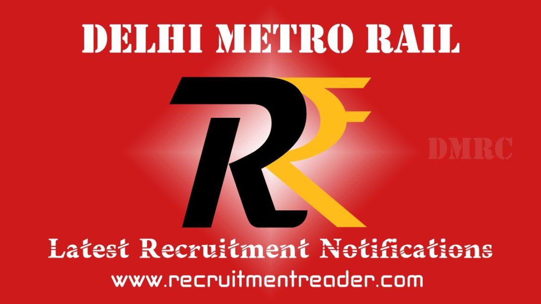 DMRC Recruitment Notification 2018