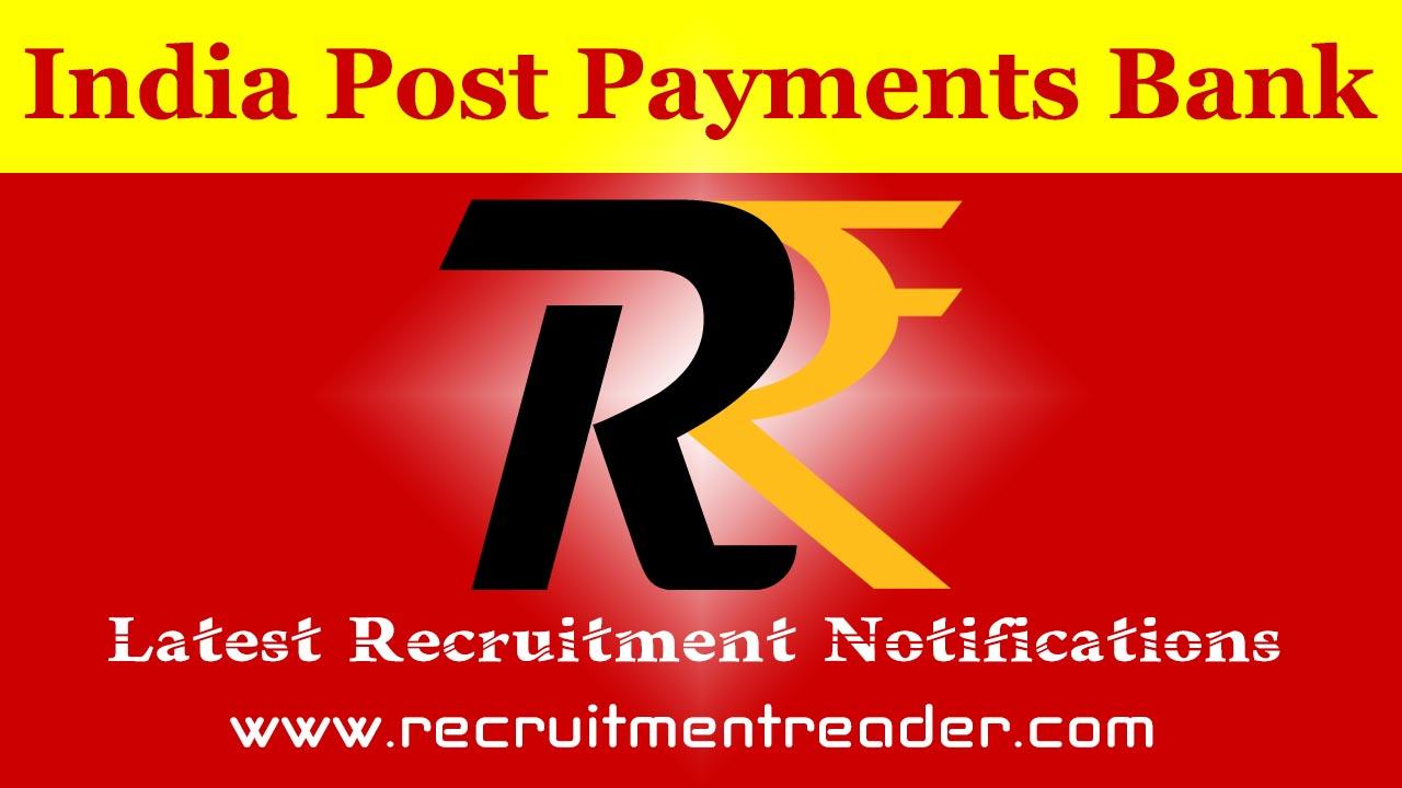 IPPB Recruitment Notification 2019 for Latest Vacancies