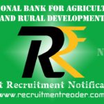 NABARD Recruitment Notification 2020