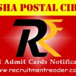 Odisha Postal Exam Admit Card 2018