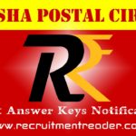 Odisha Postal Exam Answer Key 2018