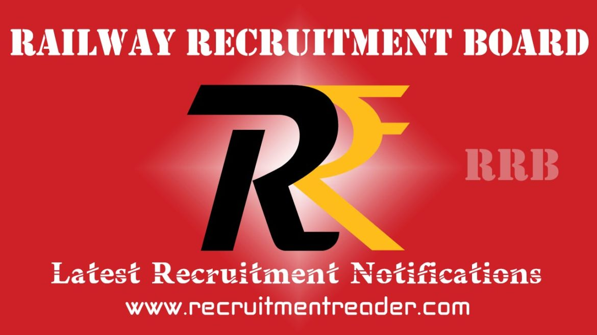 RRB Recruitment Notification 2018