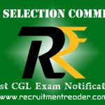 SSC CGL Exam Notification 2019