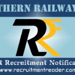 Southern Railway Recruitment Notification 2019