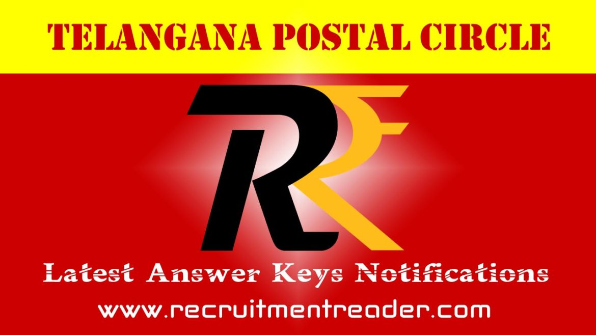 TS Postal Exam Answer Key 2018