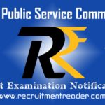 UPSC Exam Notification 2018