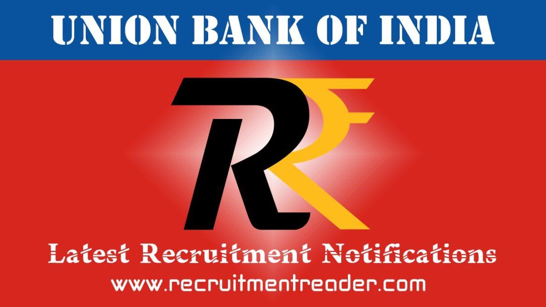 Union Bank of India Recruitment Notification 2018