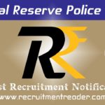 CRPF Recruitment Notification 2019