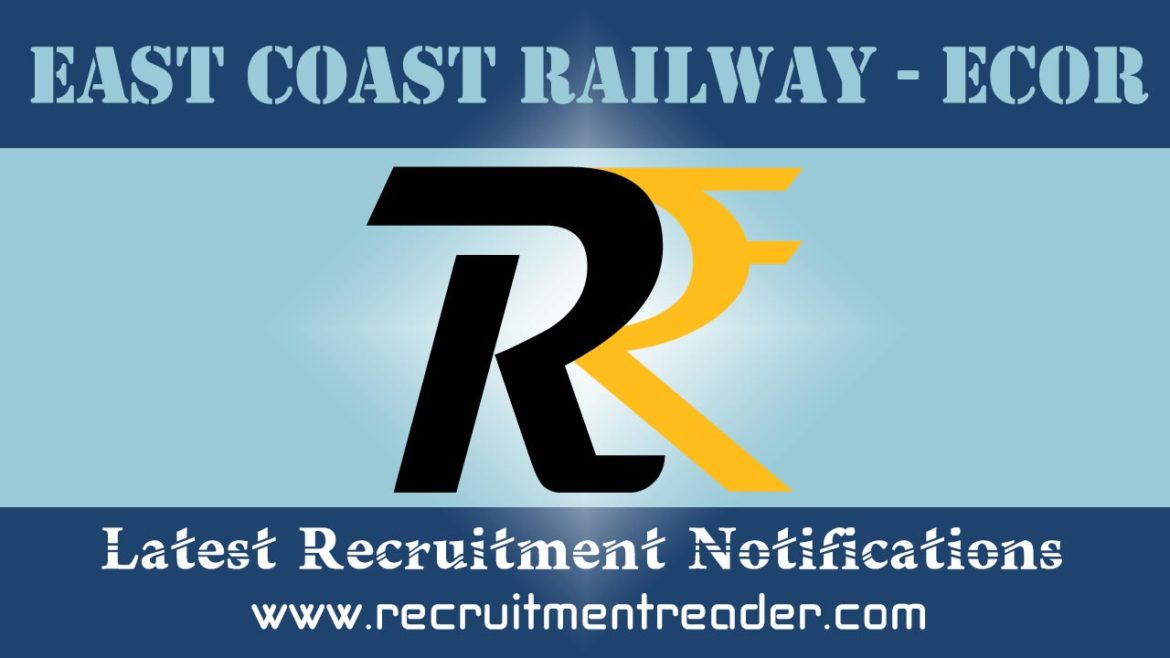 East Coast Railway RRC Recruitment Notification 2018