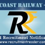 East Coast Railway Recruitment Notification 2019