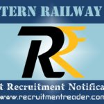 Eastern Railway RRC Recruitment Notification 2018