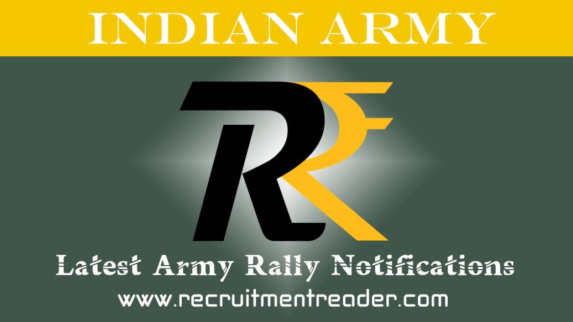 Indian Army Rally Notification 2018