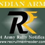 Indian Army Rally Notification
