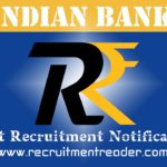Indian Bank Recruitment Notification 2018