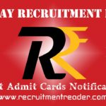 RRB Exam Admit Card 2019