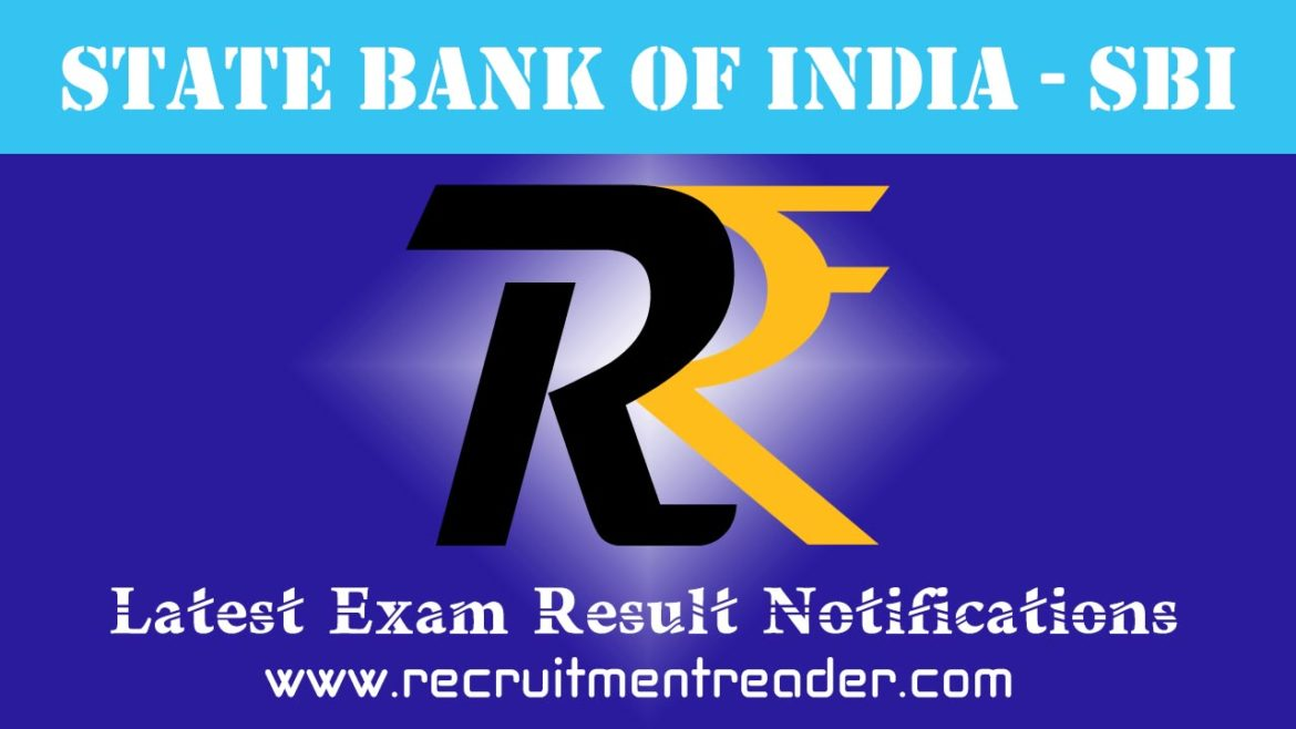 SBI Exam Result 2018