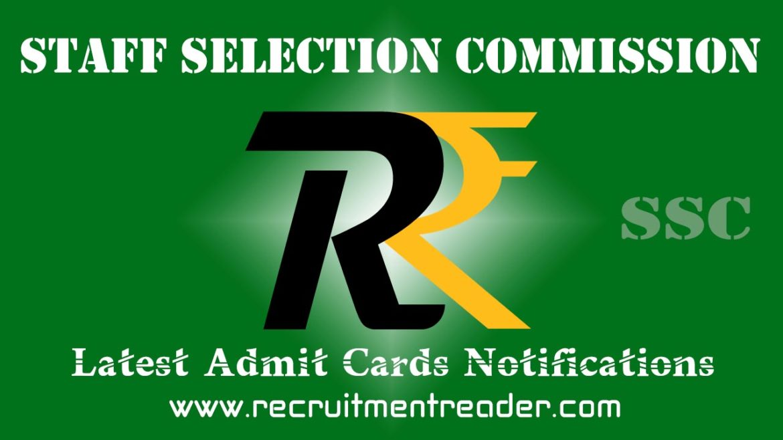SSC Exam Admit Card 2018