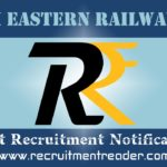 South Eastern Railway Recruitment Notification 2019