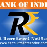 Bank of India Recruitment Notification 2018
