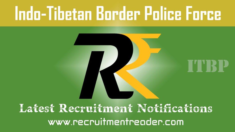ITBP Recruitment Notification 2018