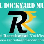 Naval Dockyard Mumbai Recruitment Notification 2018