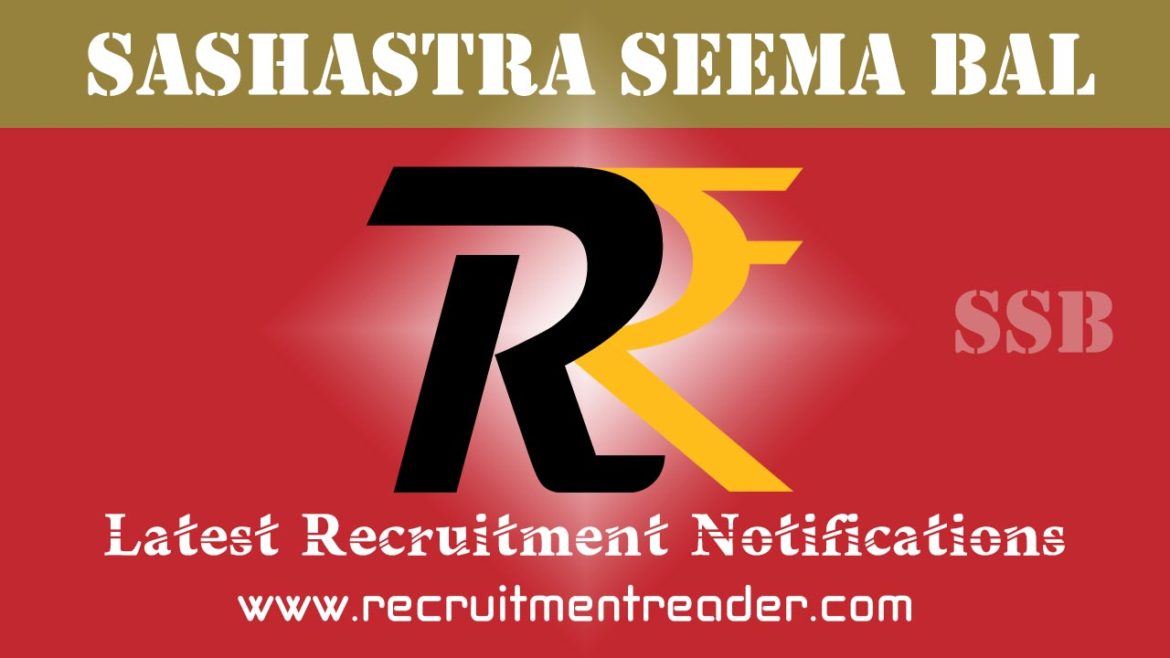 SSB Recruitment Notification 2018