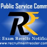 UPSC Exam Result 2018