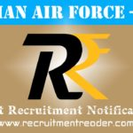 Indian Air Force Recruitment Notification 2019