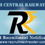 South Central Railway Recruitment Notification 2019