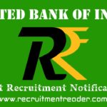 United Bank of India Recruitment Notification 2018